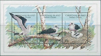 Christmas Island 1990 SG307 WWF Abbott's Booby MS MNH