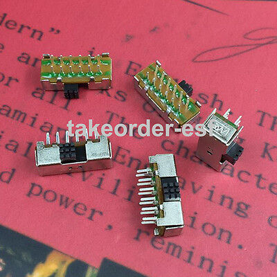 SK-42D07 Angle Slide Switches 10Pcs
