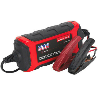 Sealey SMC12 Compact 12V Battery Charger 1.5A