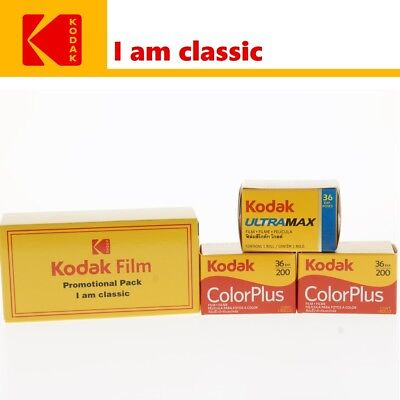 KODAK Reissue Pack - 2 x ColorPlus 200 ASA + Ultramax 400 ISO 35mm Color Film