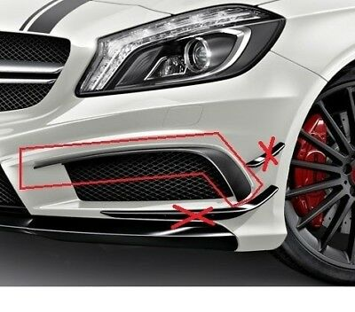 Mercedes-Benz A45 AMG Spoiler Flaps Package Cover Set For A-Class W176 Genuine