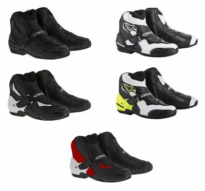 Alpinestars Motorcycle Motorbike SMX-1 R Low Cut Ankle/Heel Protection Shoes