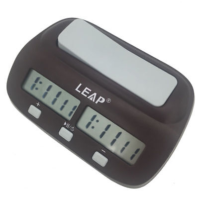 Leap Portable Electronic Chess Timer Digital Chess Clock Count Handheld Gadget