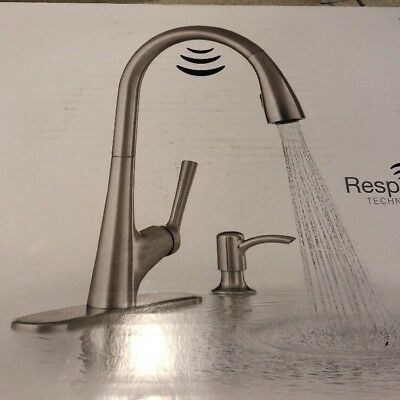 Kohler Malleco Touchless Pulldown Kitchen Faucet Soap Dispenser R77748 Sd Vs