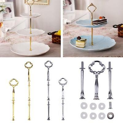 Cake Fruit Plate Rack Stand 2 3 Tier Handle Fittings Round Display Server Holder