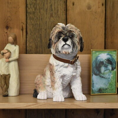 Shih Tzu Dog  Urn pet memorial casket will hold the ashes of your dog