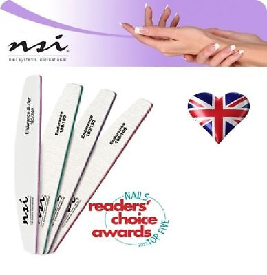 Nsi Dura Files Multi Listing 180/150/100 Grit  Acrylic / Gel Nails False Tips