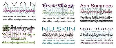 Thank You Cards 50 For Avon Scentsty Younique Ann Summers The Body Shop Nu Skin