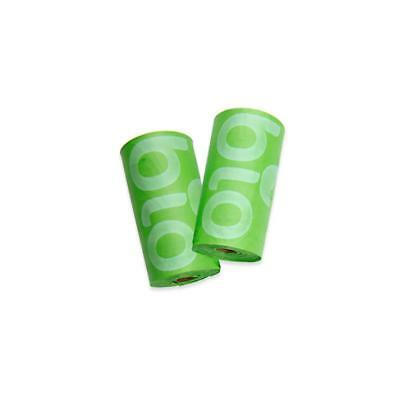 BioTuff Compostable Nappy Waste Bags 2 pack (30 bags)