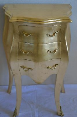Chest Of Drawers Louis Xv Style Gold