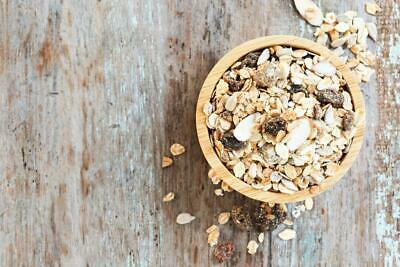 Our Organics Fruit & Sugar Free Muesli 3kg THIS PRODUCT IS NOT GLUTEN FREE