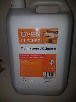 2 x 5 litres Oven Cleaner industrial strength