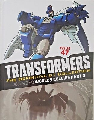 Transformers  Def.  G1 Collection = # 47 = Vol 28 = Worlds Collide Part 2