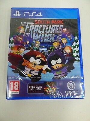 South Park The Fractured But Whole PS4 Game (BRAND NEW & SEALED) #A1
