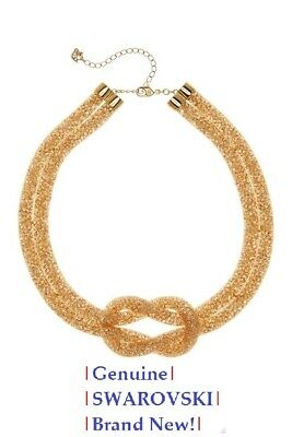 7dcc2969c964a SWAROVSKI GOLDEN CRYSTAL STARDUST DELUXE Necklace, Yellow Gold ...