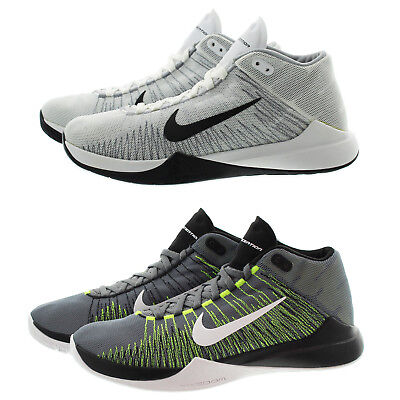 8f90938bfc91 NIKE 832234 MENS Zoom Ascention Mid Top Basketball Athletic Shoes Sneakers