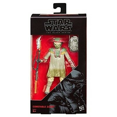 Star Wars Black Series The Force Awakens - Constable Zuvio - 6Inch Action Figure