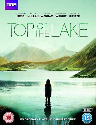 Top of the Lake - Peter Mullen & Holly Hunter (3 Disc - DVD) (New & Sealed)