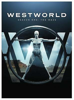 Westworld - Season One: The Maze  [DVD] Good Condition.