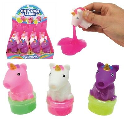 Unicorn Slime Suckers - 385-712 Magical Slimey Goo Putty Messy Kids Fun Play Toy