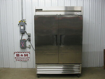 True T-49F Two Door 2 Dr Stainless Steel Commercial Reach In Freezer