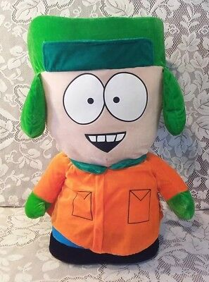 """2008 South Park 22"""" Kyle Large Stuffed Character Plush Doll Nanco Comedy Central"""