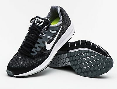 online store 33db8 9a6fb NEW NIKE AIR ZOOM STRUCTURE 20 MEN S RUNNING SHOES BLACK Grey 849576 003