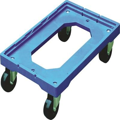 Blue Plastic Wheeled Container Dolly 369320 [SBY27609]