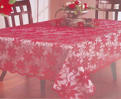 Valentine S Day Vinyl Tablecloth Conversation Hearts Love Xo Lace