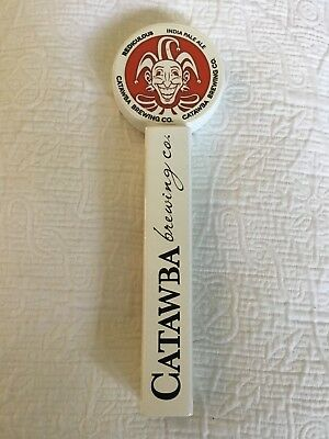 """Catawba Brewing Co. Rediculous India Pale Ale 12"""" Bar Used Beer Tap Handle"""