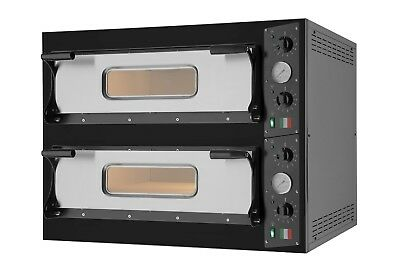 Italian 2-Deck Pizza Oven Commercial Electric