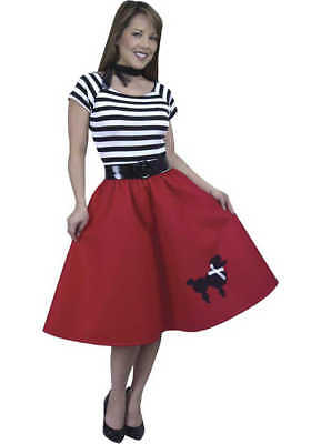 Adult Red 50's Complete Costume Charades 1623