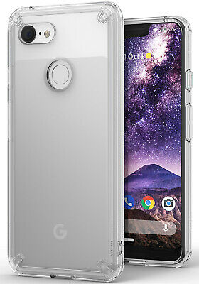 For Google Pixel 3 XL | Ringke [FUSION] Clear Shockproof TPU Bumper Cover Case