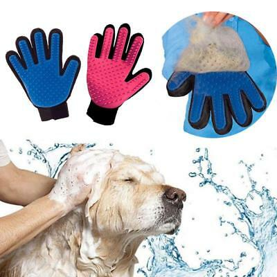 Pet Grooming Glove Silicone Brush Mesh Comb Animal Accessories Pets Supplies New
