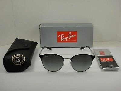 f291b4e455 Authentic Ray-Ban Sunglasses Rb3545 900411 Black Silver grey Gradient Lens  54Mm