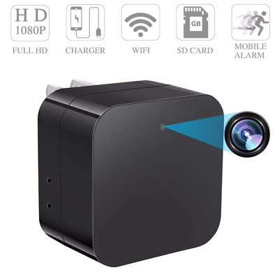 Spy Camera Wireless Hidden Security Monitoring Cam Motion Detection Smart Snap