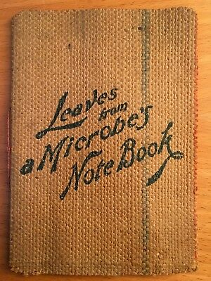 1890 QUACK MEDICINE BOOK LEAVES FROM A MICROBE'S NOTEBOOK Yonkers NY BOROLYPTOL