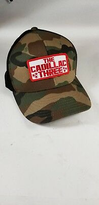 37c04412d DECKY CAMOUFLAGE CURVE Bill Constructed Trucker Hats Caps Snapback ...