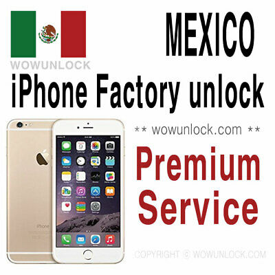 MEXICO AT&T Unefon Nextel Iusacell Unlock Service iPhone Xs Max XS All Models