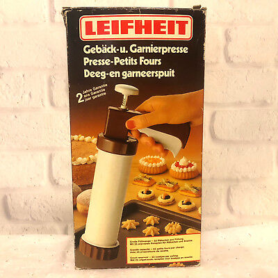 Vintage Leifheit Biscuit and Cookie Maker Press