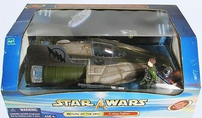 STAR WARS - SAGA - A-Wing (green) with Pilot - sehr selten