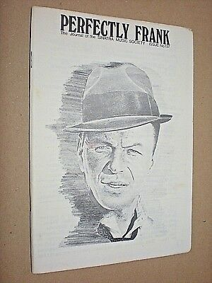PERFECTLY FRANK. JOURNAL OF THE SINATRA MUSIC SOCIETY. No.137. 1976