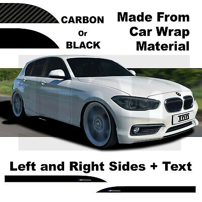 Side Skirt Stickers Decal Sticker for BMW F 20 21 f20 f21 1 Series M Performance
