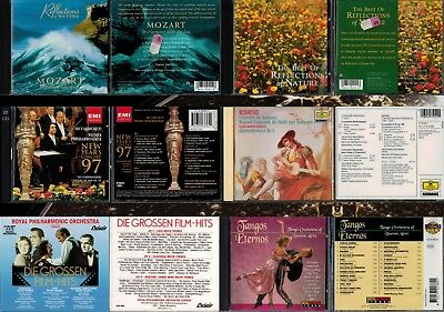 10 CDs Klassik Smooth Jazz ChillOut World Oper Chor Romantic Modern Film Classic