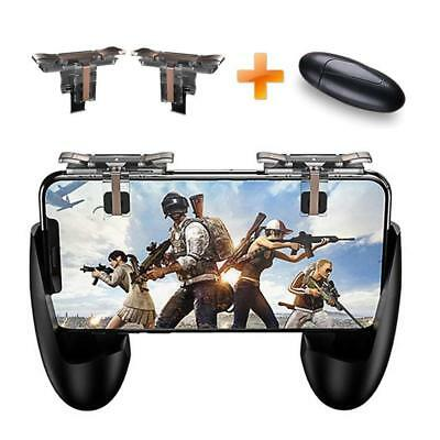 Mobile Game Controller and Gamepad, Sensitive Shoot and Aim Buttons