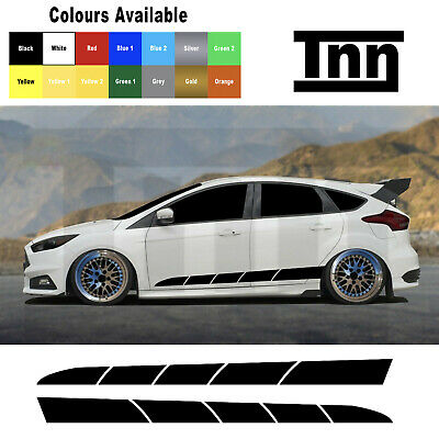 Ford Focus Fiesta ST RS Mk3 MK2 Graphics Decals Stripes Stickers 2.0 Turbo