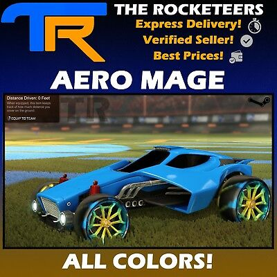 [PC STEAM] Rocket League Every Painted AERO MAGE Limited Wheels RLCS Reward