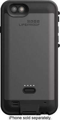 AUTHENTIC Lifeproof Fre Power Battery Charging Case Black iPhone 6  6s BACK ONLY