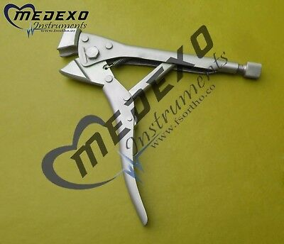 "Plate Bending Pliers 8"" max 1.6mm OTHOPEDIC Fine Quality INSTRUMENTS"
