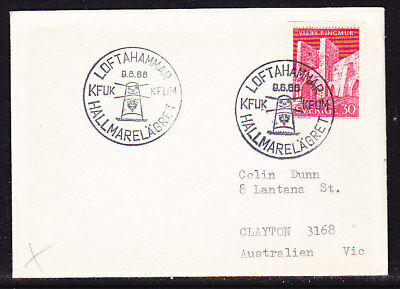 Sweden Scout Cover 1968 Loftahammar